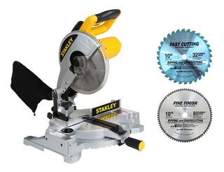 Ingletadora Stanley 10 1500w Stsm1525 2 Disc 32 80-aluminio
