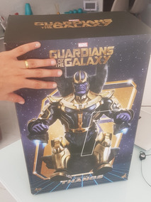 Hot Toys Thanos Mms280guardiões Da Galáxia Pronta Entrega.