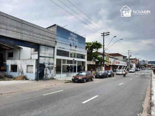 Loja Para Alugar, 700 M² Por R$ 15.000,00/mês - Vila Cascatinha - São Vicente/sp - Lo0067