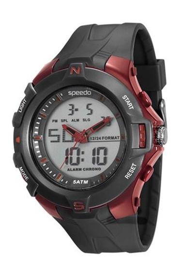 Relógio Speedo Masculino Esportivo Digital 81136g0evnp1