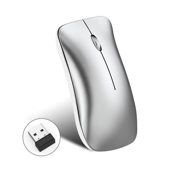 Ratos Recarregável Ergonómicos Do Mouse Sem Fio Hxsj T27 2.4