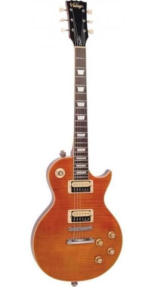 Guitarra Vintage Les Paul V100afd Paradise Amb