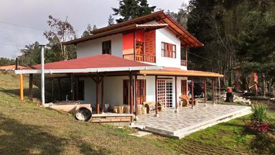 Casa De 2 Plantas, Prefabricada En Vereda Mazo