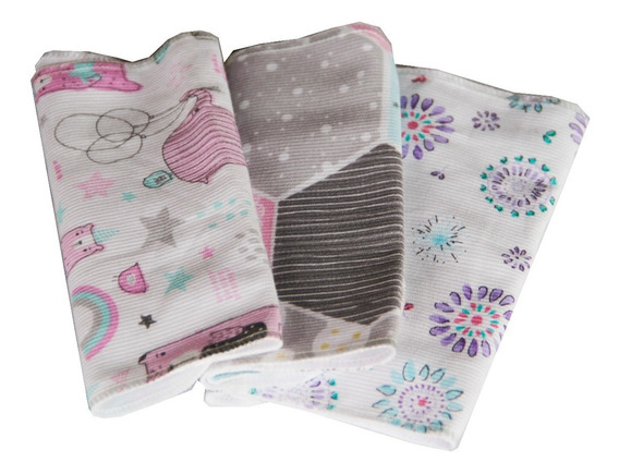 Babitas De Toalla Y Piqué Pack X2