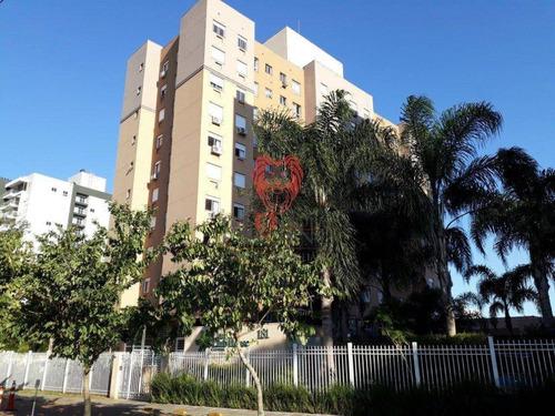 Apartamento Com 2 Dormitórios À Venda, 48 M² Por R$ 235.000,00 - Centro - Gravataí/rs - Ap0701