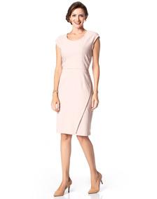 Vestido Moderno Liso Chique Moda Evangélica Lindo (05887)