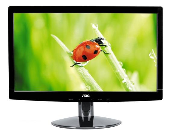 Monitor Led 15.6 Aoc E1621sw ( Vga ) Promoção