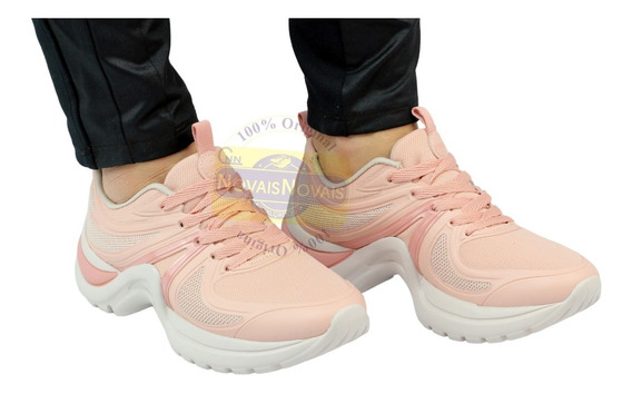 Tênis Feminino Azaleia Sneaker Chunky 100% Original