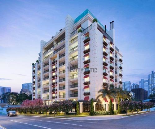 Apartamento Com 2 Dormitórios À Venda, 90 M² Por R$ 1.005.600,00 - Mercês - Curitiba/pr - Ap3018