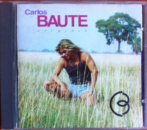 Carlos Baute. Orígenes. Cd Original, Usado