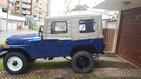 Jeep Willys Totalmente Restaurado