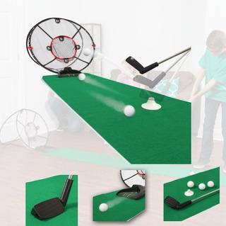Juego Mini Golf Electrico Majik Entrenamiento Portable Xt C