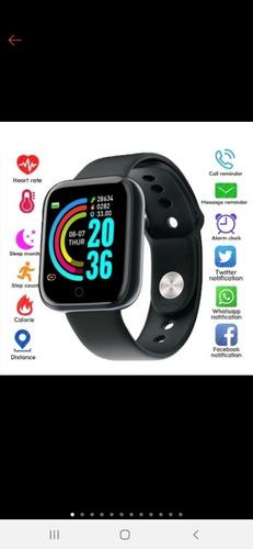 Imagem 1 de 5 de Relogio Smartwatch Feminino Masculino D20 Fit Pro Whatsapp
