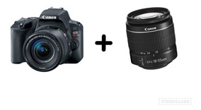 Câmera Canon Rebel Sl2 C/ Lente 18-55mm Is Stm