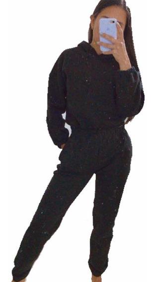 Conjunto Sweater Jogging Moda Dama Frizado Invierno Mujer