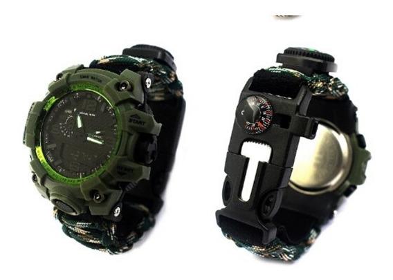 Relógio Da Sobrevivência Original Multifunções