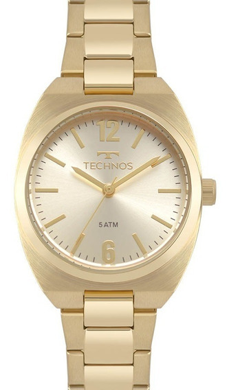 Relógio Technos Feminino Dourado 2035mpa/4x Lindo