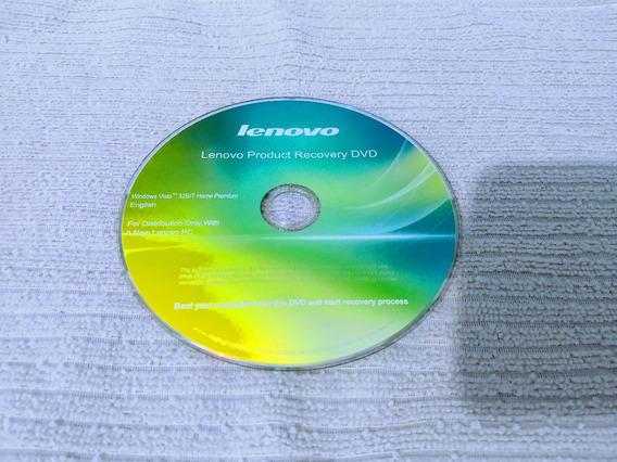 Cd - Lenovo Recovery - Windows Vista32bit - Home Premium