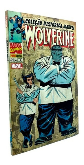 Hq Coleção Histórica Marvel Wolverine Volume 2 Lacrada