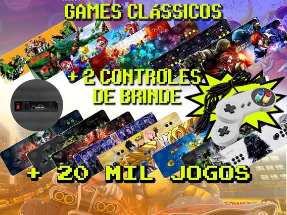 Fliperama Portátil Arcade 20 Mil Jogos 64g+brinde