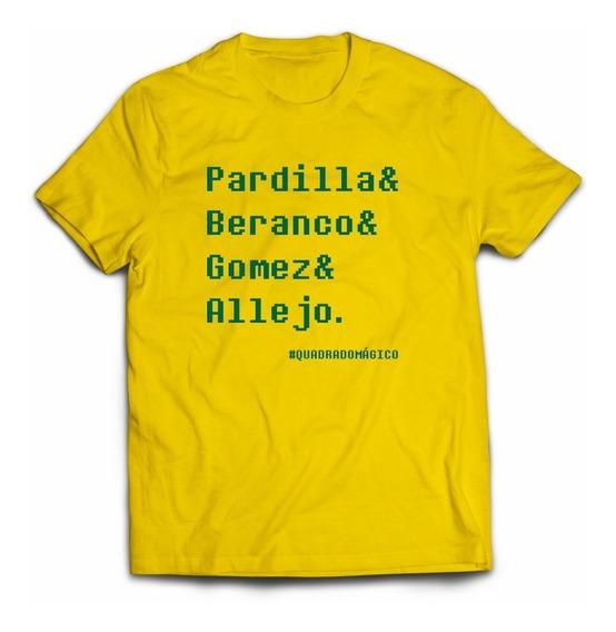 Camiseta Quadrado Mágico Allejo Beranco Gomez Pardilla Snes