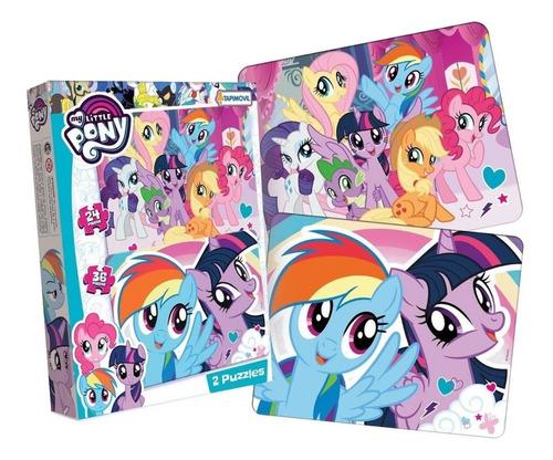 Imagen 1 de 6 de My Little Pony 2 Puzzles 24 36 Piezas New Cod 9309 Bigshop