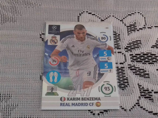 Card:champions League 14/15 - Nº 328 -game Changer - Benzema