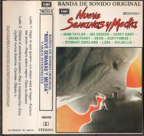Cassette Banda Sonora 9 Semanas Y Media Mercado Libre