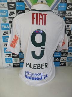 Palmeiras Jogo Nº9 Kleber Tam. G 54x70 Original adidas Nova