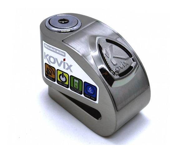 Trava Disco Moto Alarme Freio Kovix Kd6 Antifurto Cadeado Compacto Portátil Ótima Qualidade