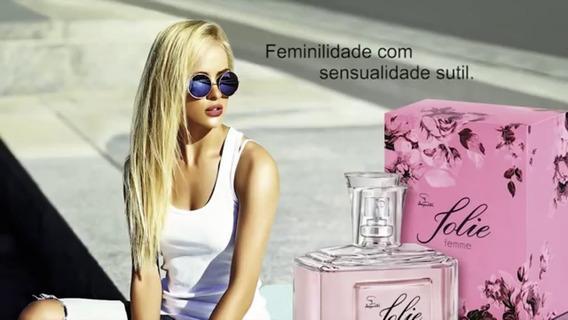 Colônia Feminina Jolie Femme Por Jequiti A Marca Das Marcas