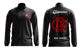 Moletom Torcida Flamengo /listrado Personalizado