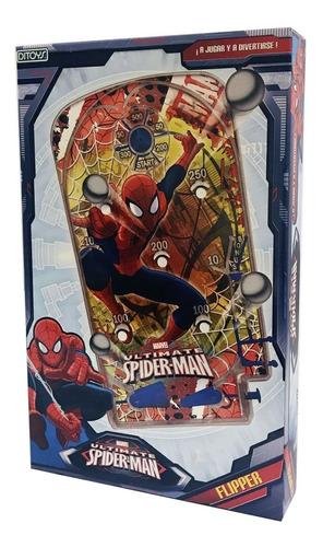 Imagen 1 de 5 de Juego De Mesa Flipper Spiderman Avengers St Disney