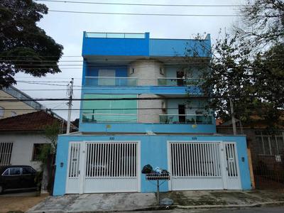 Cobertura Residencial À Venda, Vila Assunção, Santo André. - Co50297