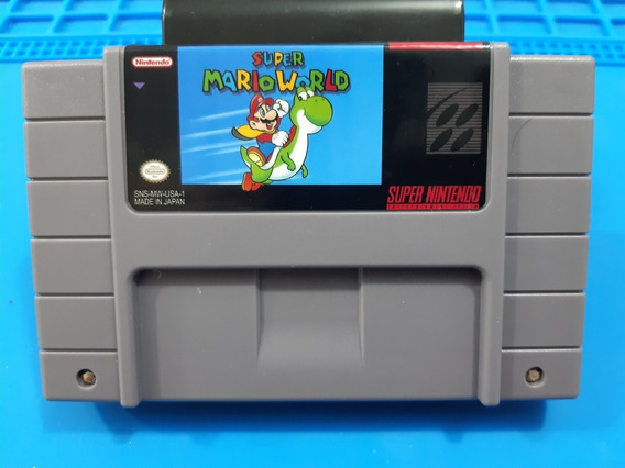 Fita De Super Nintendo Super Mario World