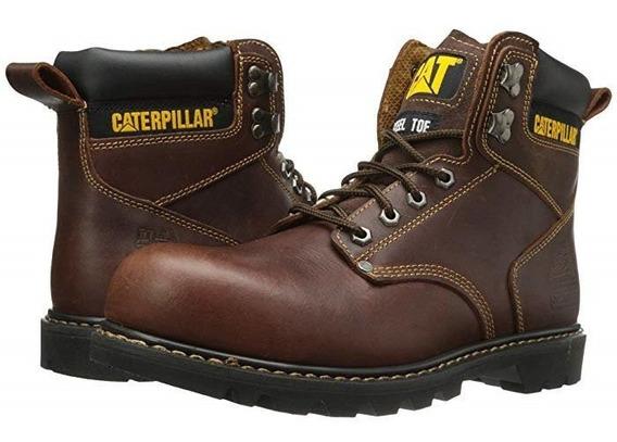 Bota Caballero Caterpillar Second Shift Cafe P89817 Original
