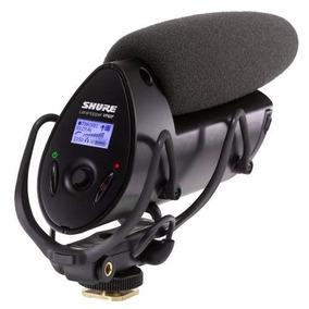 Microfone Shotgun Shure Vp83f Câmeras Fotográficas Slr Dslr