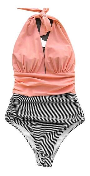 Aloha Traje De Baño De Dama Bikini Modelo 2 Monokini 1 Piez