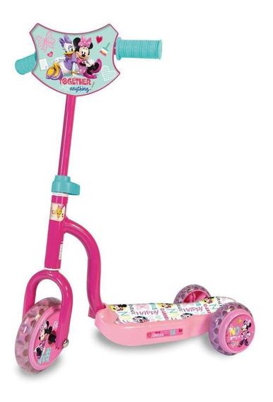 Scooter Monopatin Infantil Mickey Pepa Spiderman Minnie
