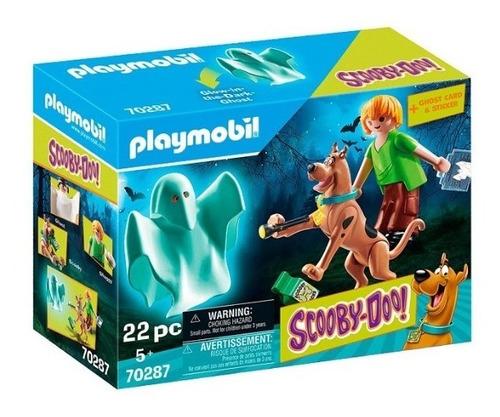Playmobil Scooby Doo 70287 - Scooby Y Shaggy Con Fantasma