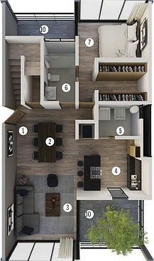 * Exclusivo Penthouse En Venta Tipo 2.1 Condominio Viu Homes En Zibata