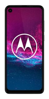 Celular Motorola One Action 128gbColor Blanco