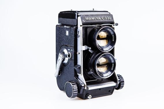 Câmera Fotográfica Analógica Mamyia C330 120mm Médio Formato