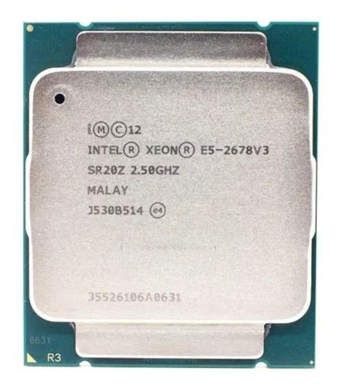 Processador Intel Xeon E5 2678 V3 12 Núcleos / 24 Threads