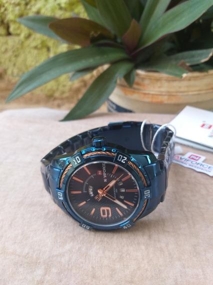 Relógio Naviforce Masculino Nf9117m Original + Caixa