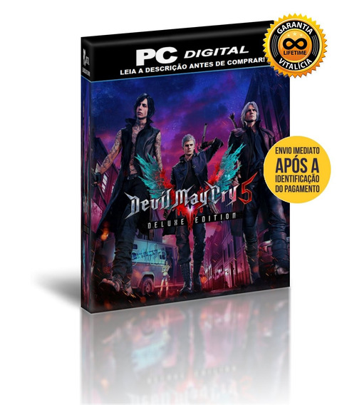 Devil May Cry 5 - Deluxe Edition - Pc Digital + Brinde