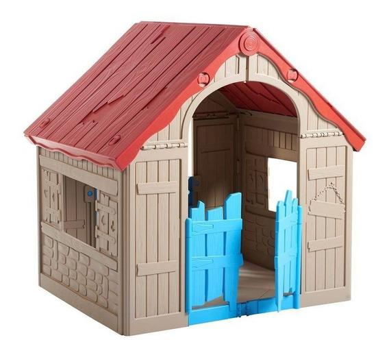 Casinha De Brinquedo Infantil Dobrável Keter