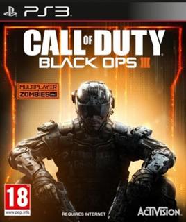 Call Of Duty Black Ops 3 Iii Bo3 +ops 1 Para Ps3 Playstation