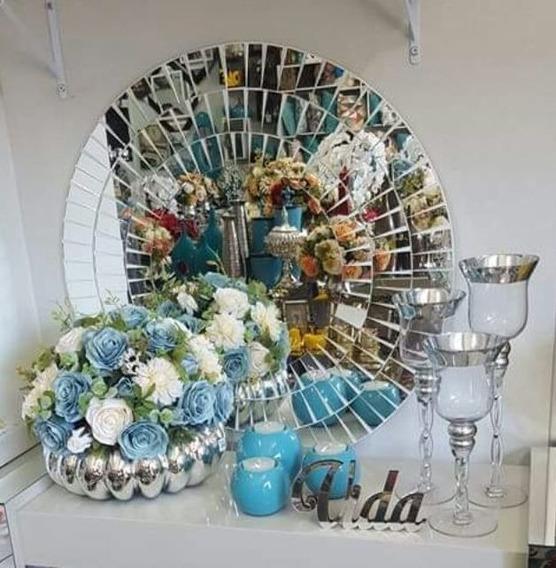 Mandala Espelho Mosaico 60cm