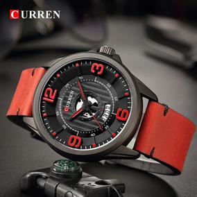 Relógio Masculino Curren 8305 - Couro Genuíno - Original